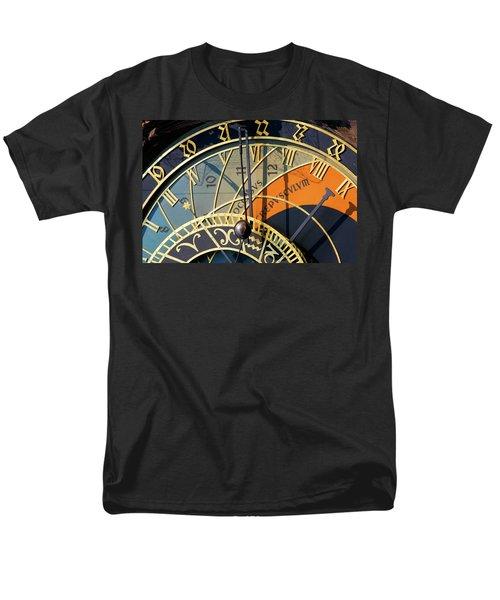 Astronomical Clock Prague Men's T-Shirt  (Regular Fit) by KG Thienemann