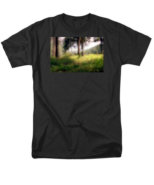 At Menashe Forest Men's T-Shirt  (Regular Fit) by Dubi Roman