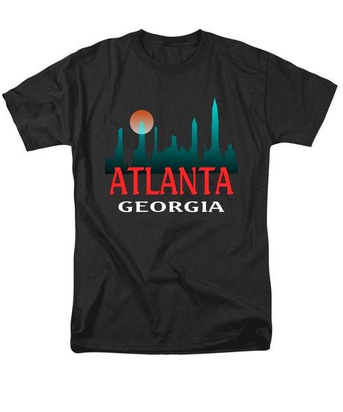Atlanta Georgia Design Men's T-Shirt  (Regular Fit)