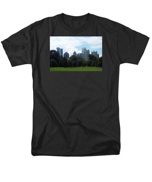 Men's T-Shirt  (Regular Fit) featuring the photograph Atlanta Skyline by Jake Hartz