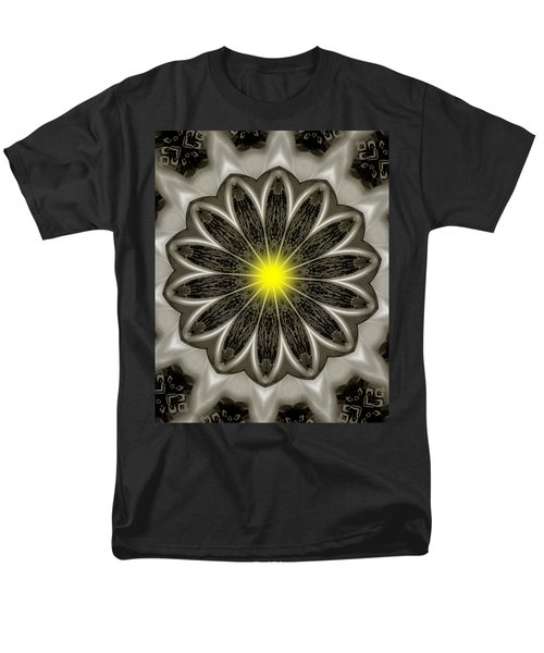 Atomic Lotus No. 2 Men's T-Shirt  (Regular Fit) by Bob Wall