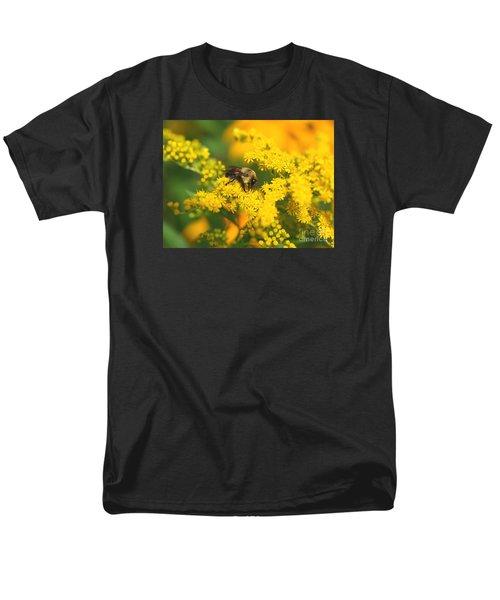 August Bee Men's T-Shirt  (Regular Fit) by Susan  Dimitrakopoulos