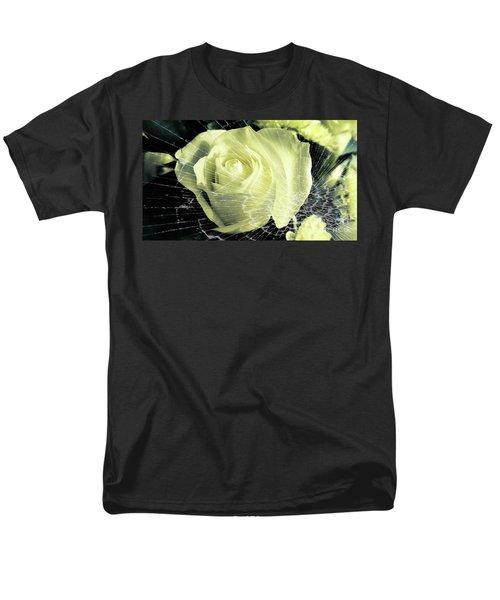 Aunt Edna's Rose Men's T-Shirt  (Regular Fit) by Rachel Hannah