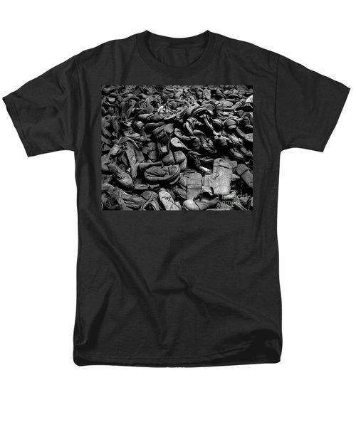 Auschwitz-birkenau Shoes Men's T-Shirt  (Regular Fit) by RicardMN Photography