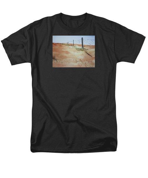 Australian Outback Track Men's T-Shirt  (Regular Fit) by Elvira Ingram