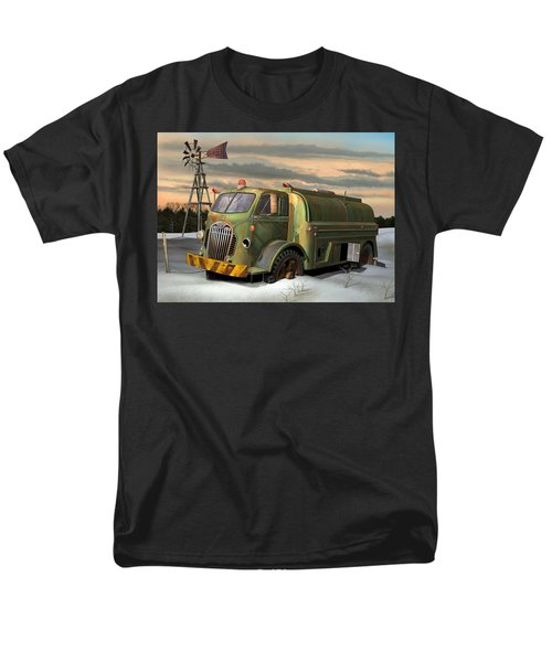 Autocar Waterwagon Men's T-Shirt  (Regular Fit) by Stuart Swartz