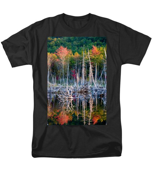 Autumn At Moosehead Bog Men's T-Shirt  (Regular Fit) by Brent L Ander