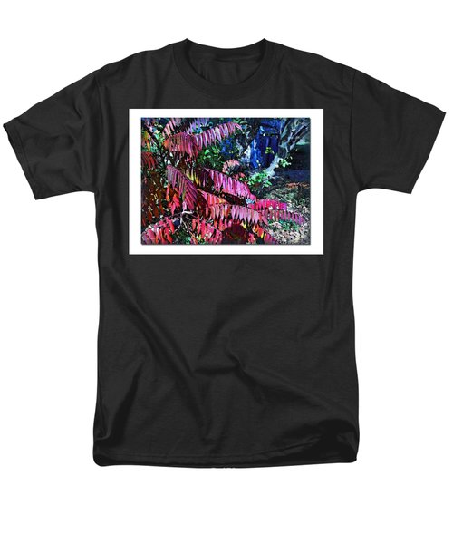 Men's T-Shirt  (Regular Fit) featuring the photograph Autumn At The Taverne by Joan  Minchak