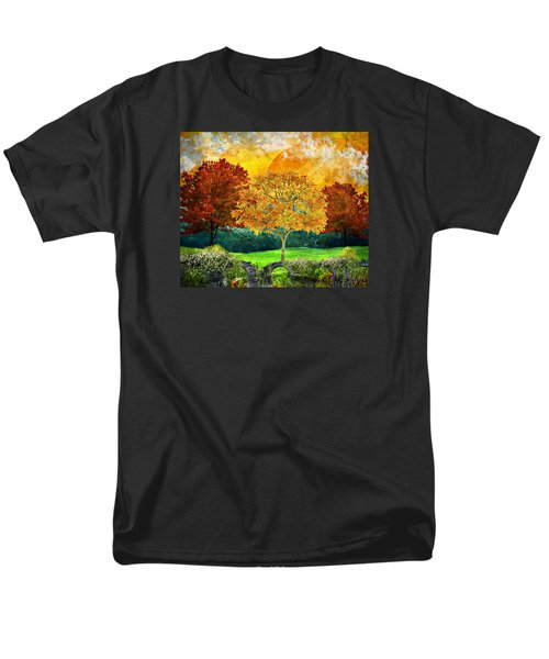 Autumn Fantasy Men's T-Shirt  (Regular Fit) by Ally White