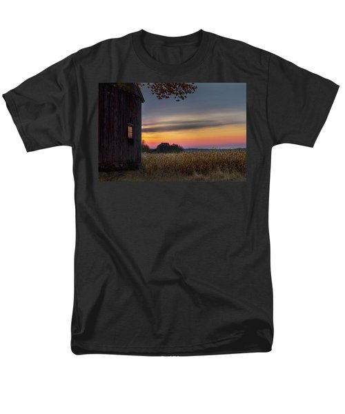 Men's T-Shirt  (Regular Fit) featuring the photograph Autumn Glow by Bill Wakeley