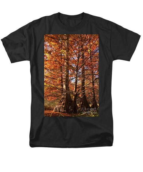 Men's T-Shirt  (Regular Fit) featuring the photograph Autumn Grandeur At Lake Murray by Tamyra Ayles