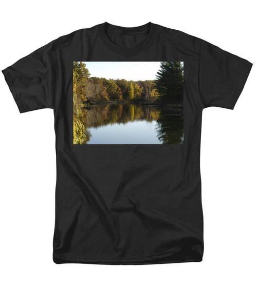 Autumn In Mears Michigan Men's T-Shirt  (Regular Fit) by Tara Lynn