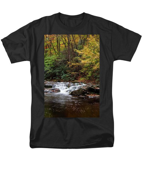 Autumn In The Smokies Men's T-Shirt  (Regular Fit) by Andrew Soundarajan