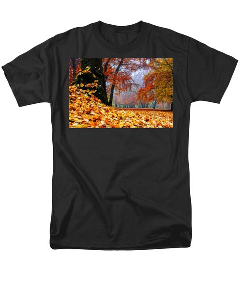 Autumn In The Woodland Men's T-Shirt  (Regular Fit) by Hannes Cmarits