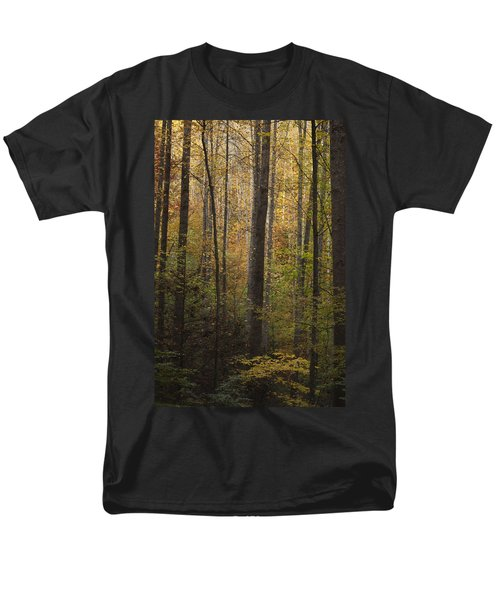 Autumn In The Woods Men's T-Shirt  (Regular Fit) by Andrew Soundarajan