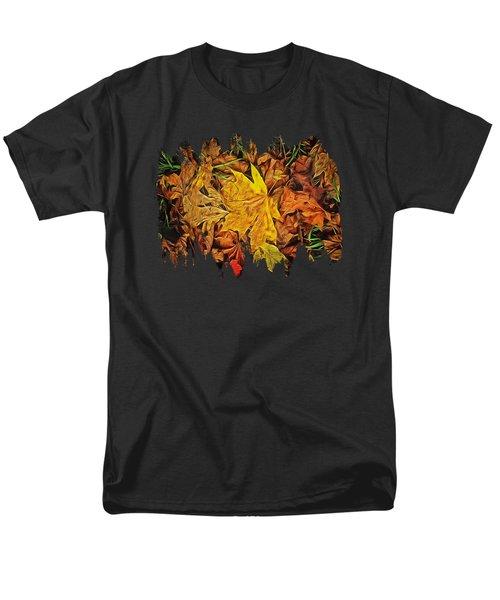 Autumn Leaves Of Beaver Creek Men's T-Shirt  (Regular Fit) by Thom Zehrfeld