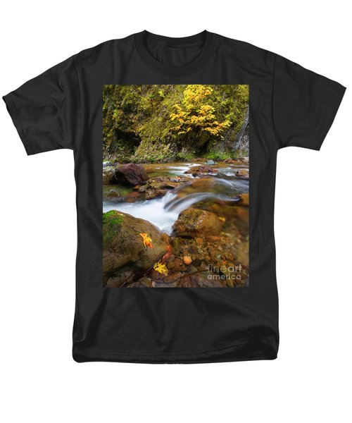 Men's T-Shirt  (Regular Fit) featuring the photograph Autumn Moment by Mike Dawson