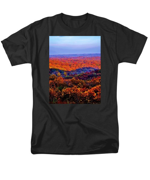 Autumn Rainbow Men's T-Shirt  (Regular Fit)