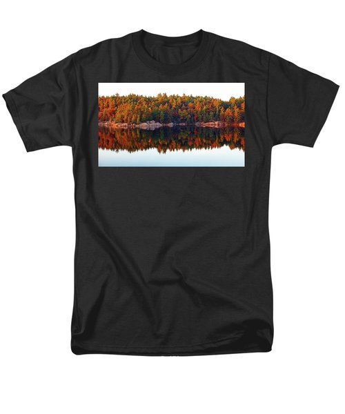 Men's T-Shirt  (Regular Fit) featuring the photograph   Autumn Reflections by Debbie Oppermann