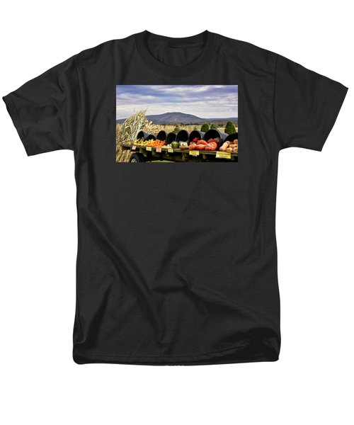Autumnal Abundance In The Blue Ridge Mountains - Virginia Men's T-Shirt  (Regular Fit) by Brendan Reals