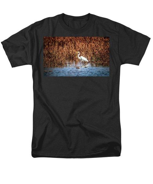 Autumn's Shore Men's T-Shirt  (Regular Fit) by Ray Congrove