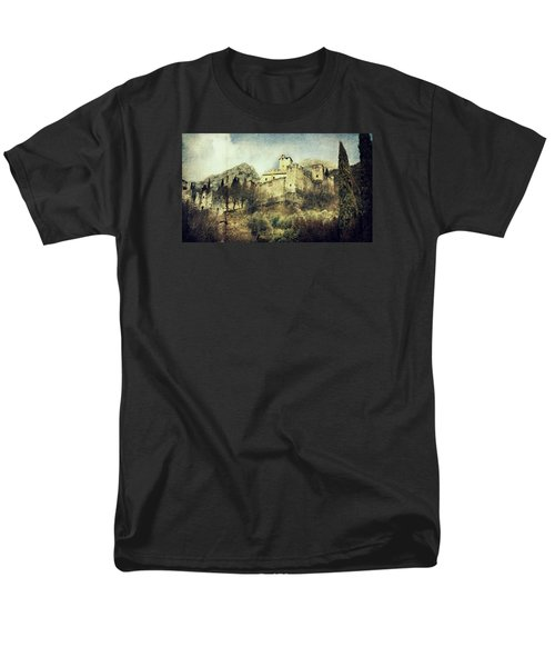 Avio Castle Men's T-Shirt  (Regular Fit) by Vittorio Chiampan