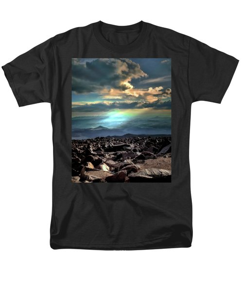 Men's T-Shirt  (Regular Fit) featuring the photograph Awareness ... by Jim Hill