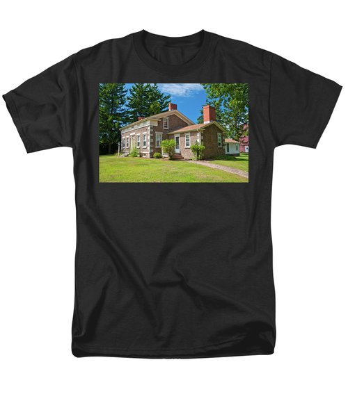 Men's T-Shirt  (Regular Fit) featuring the photograph Babcock House Museum 2250 by Guy Whiteley