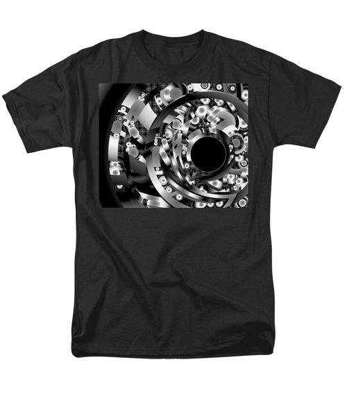 Men's T-Shirt  (Regular Fit) featuring the digital art Babel by Lynda Lehmann