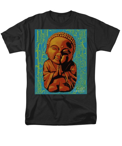 Baby Buddha Men's T-Shirt  (Regular Fit) by Ashley Price