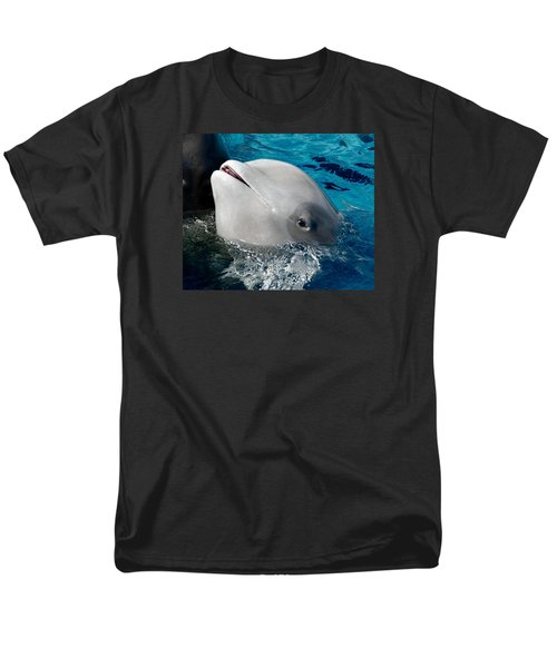Men's T-Shirt  (Regular Fit) featuring the photograph Baby Whale by Bob Pardue