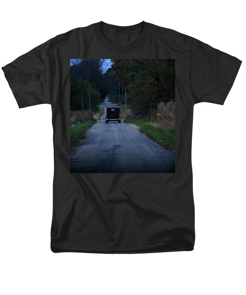 Back Roads Men's T-Shirt  (Regular Fit) by Rowana Ray