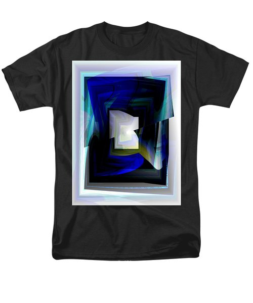 The End Of The Tunnel Men's T-Shirt  (Regular Fit) by Thibault Toussaint