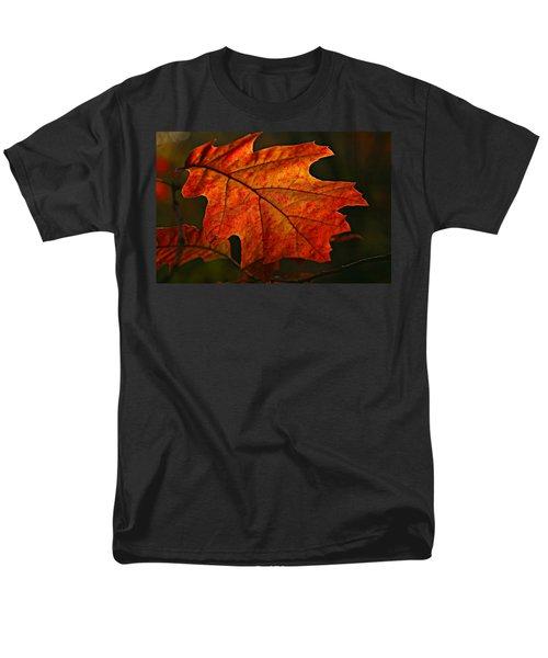 Backlit Leaf Men's T-Shirt  (Regular Fit) by Shari Jardina