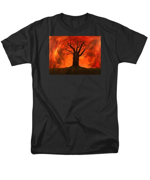 Bad Tree Men's T-Shirt  (Regular Fit) by David Stasiak