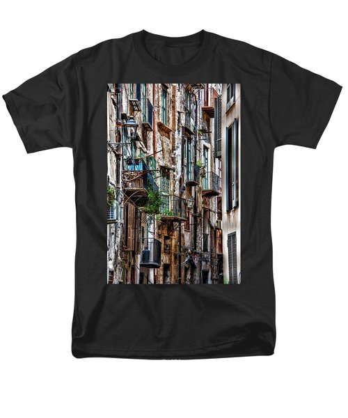 Balconies Of Palermo Men's T-Shirt  (Regular Fit) by Patrick Boening