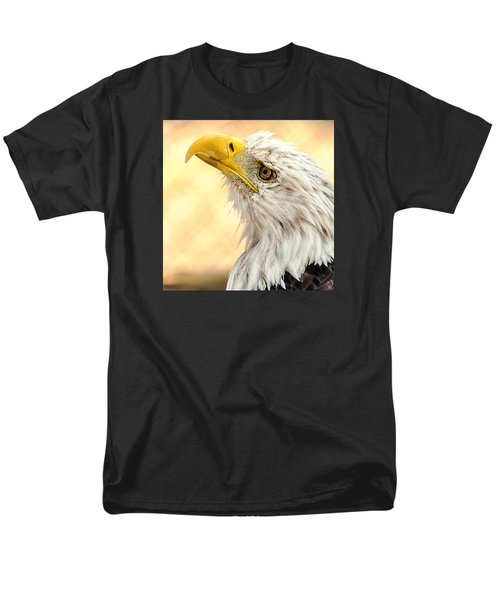 Men's T-Shirt  (Regular Fit) featuring the photograph Bald Eagle Portrait by Yeates Photography