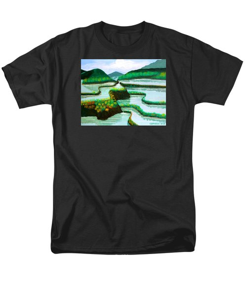 Men's T-Shirt  (Regular Fit) featuring the painting Banaue by Cyril Maza