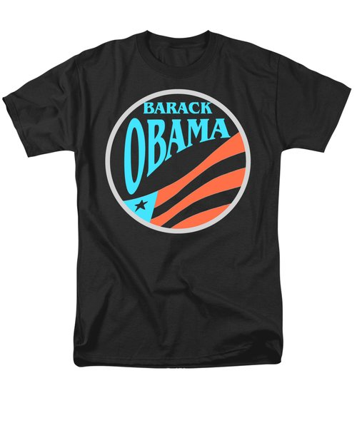 Barack Obama - Tshirt Design Men's T-Shirt  (Regular Fit) by Art America Online Gallery