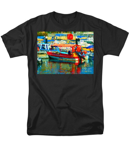 Barco En Cabo Marina Men's T-Shirt  (Regular Fit)