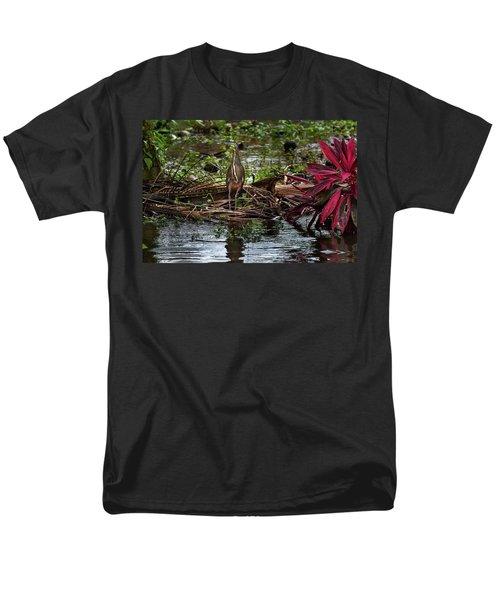 Bare-throated Tiger-heron Men's T-Shirt  (Regular Fit) by James David Phenicie