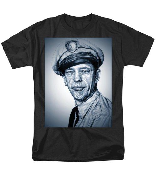Barney Fife Men's T-Shirt  (Regular Fit) by Fred Larucci