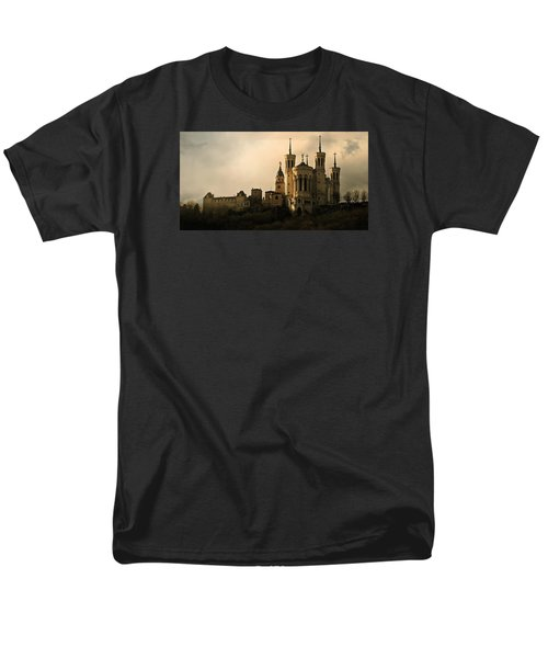 Basilica Of Our Lady Of Fourviere  Men's T-Shirt  (Regular Fit) by Katie Wing Vigil