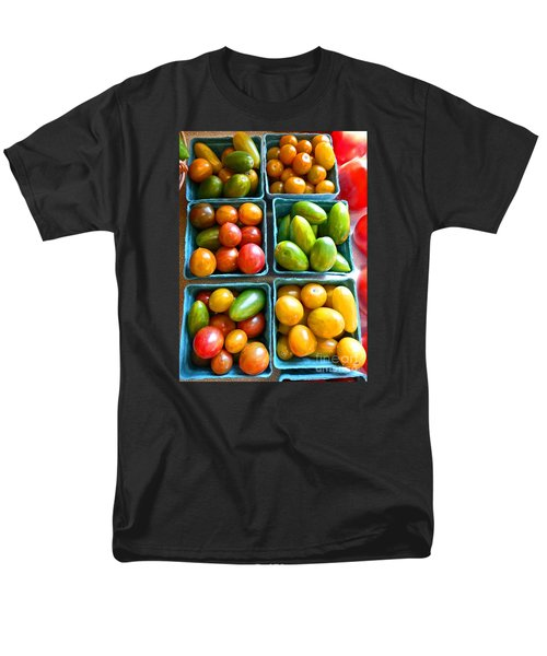 Baskets Of Baby Tomatoes Men's T-Shirt  (Regular Fit) by Dee Flouton