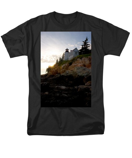 Bass Harbor Lighthouse 1 Men's T-Shirt  (Regular Fit) by Brent L Ander