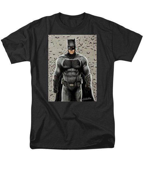 Batman Ben Affleck Men's T-Shirt  (Regular Fit) by David Dias