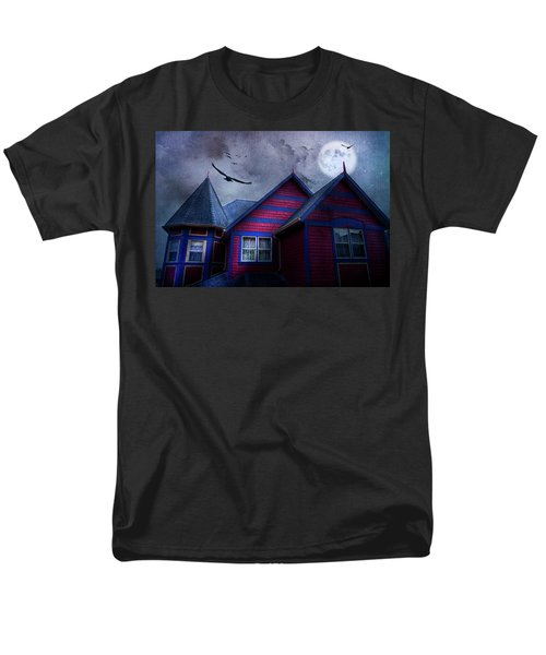 Men's T-Shirt  (Regular Fit) featuring the photograph Battle Street West by Theresa Tahara