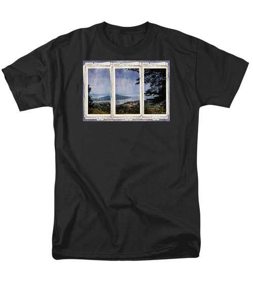 Men's T-Shirt  (Regular Fit) featuring the photograph Bay Area by Judy Wolinsky