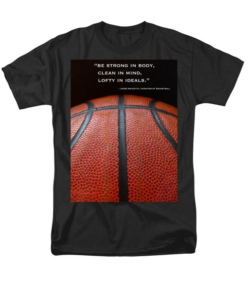 Men's T-Shirt  (Regular Fit) featuring the photograph Be Strong by Julia Wilcox