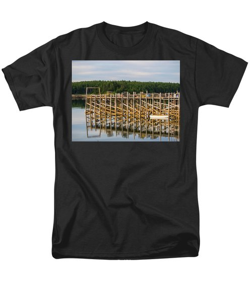 Men's T-Shirt  (Regular Fit) featuring the photograph Beals Island, Maine  by Trace Kittrell